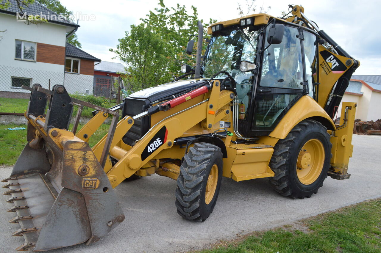 CATERPILLAR Koparko ładowarka CAT 428E *2007/08* IDEALNY!!! backhoe loader