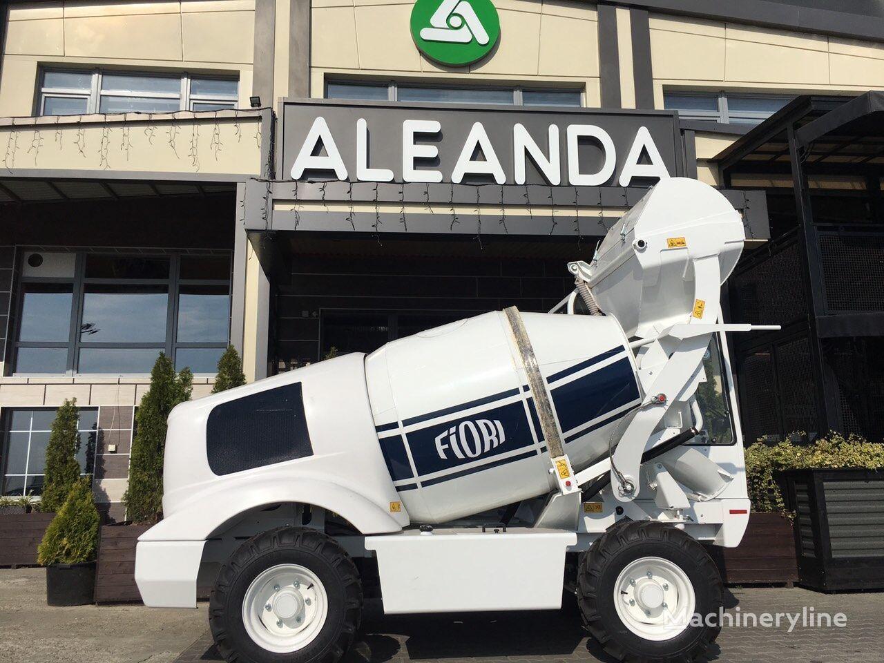 new FIORI DB X-10 concrete mixer truck
