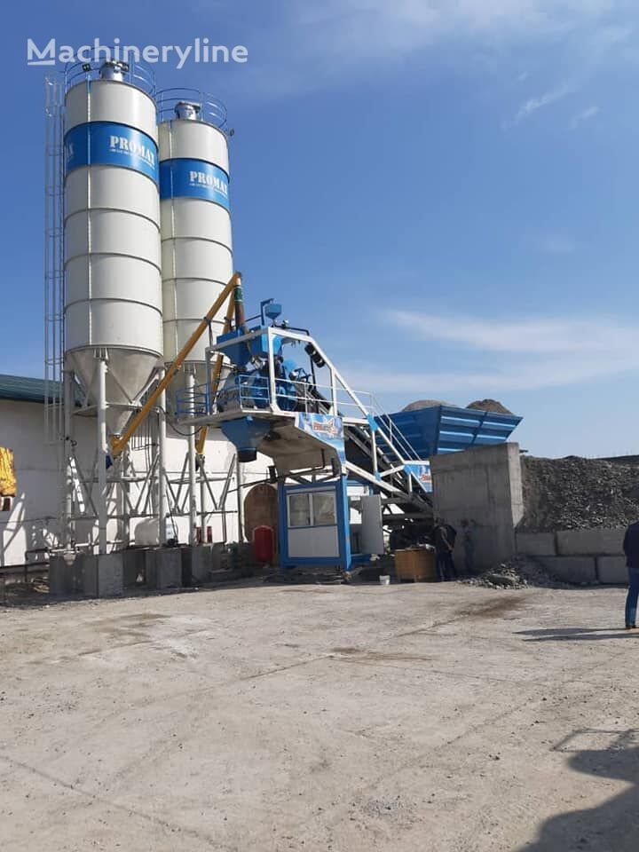 new PROMAX Mobile Concrete Batching Plant M60 SNG(60m³/h) concrete plant