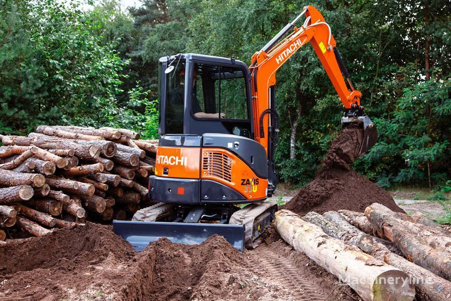 new HITACHI ZX 33U-5A mini digger