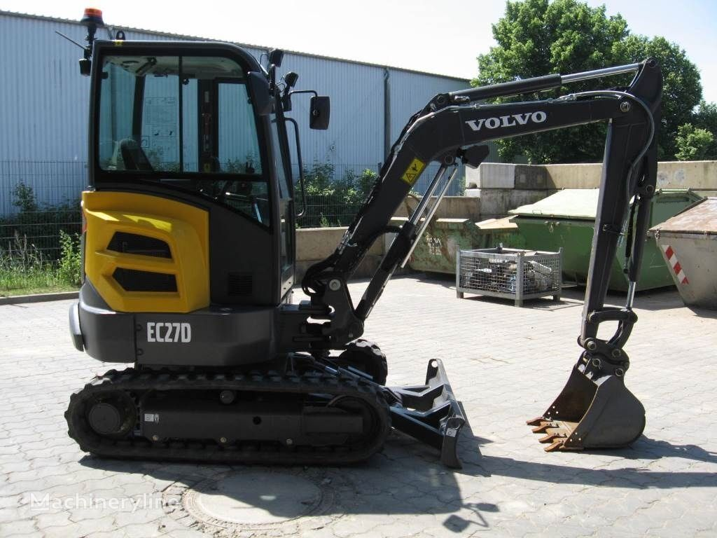 new VOLVO ECR 27D mini digger