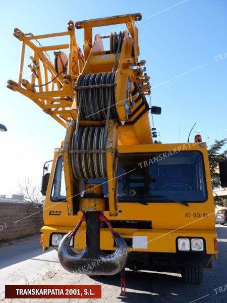 LUNA LUNA AT 80-41 mobile crane