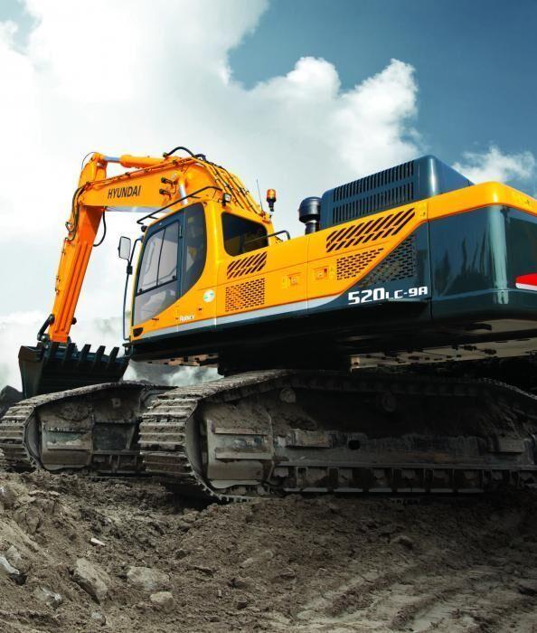 HYUNDAI Robex 520LC-9A tracked excavator