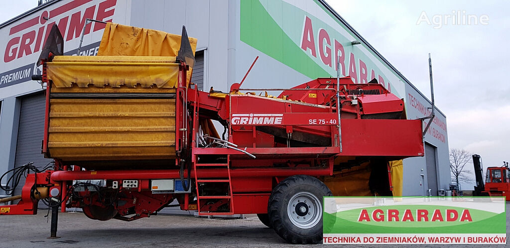 GRIMME SE 75 - 40 UB potato harvester