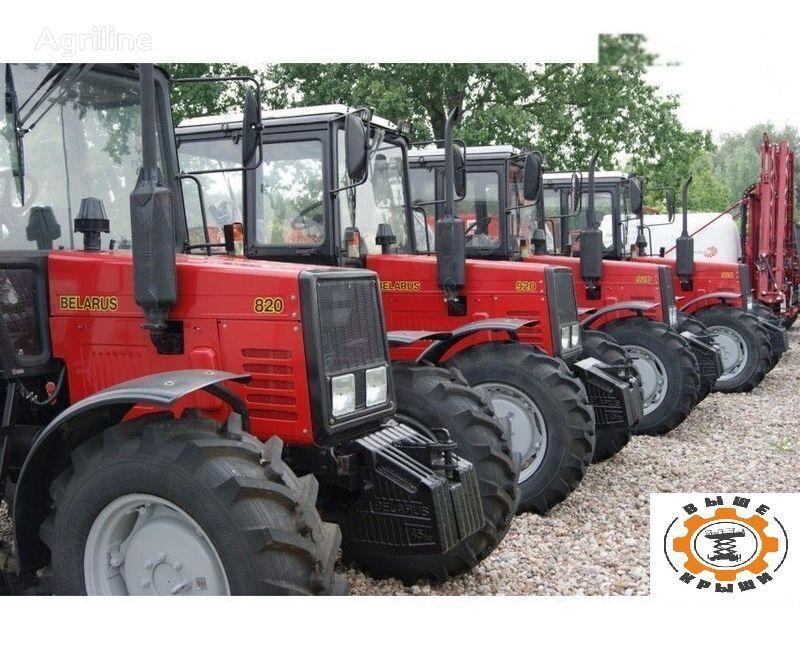 new MTZ 820 wheel tractor