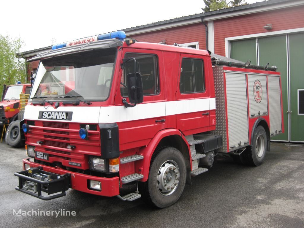 SCANIA P-92, 4x2 WD fire truck