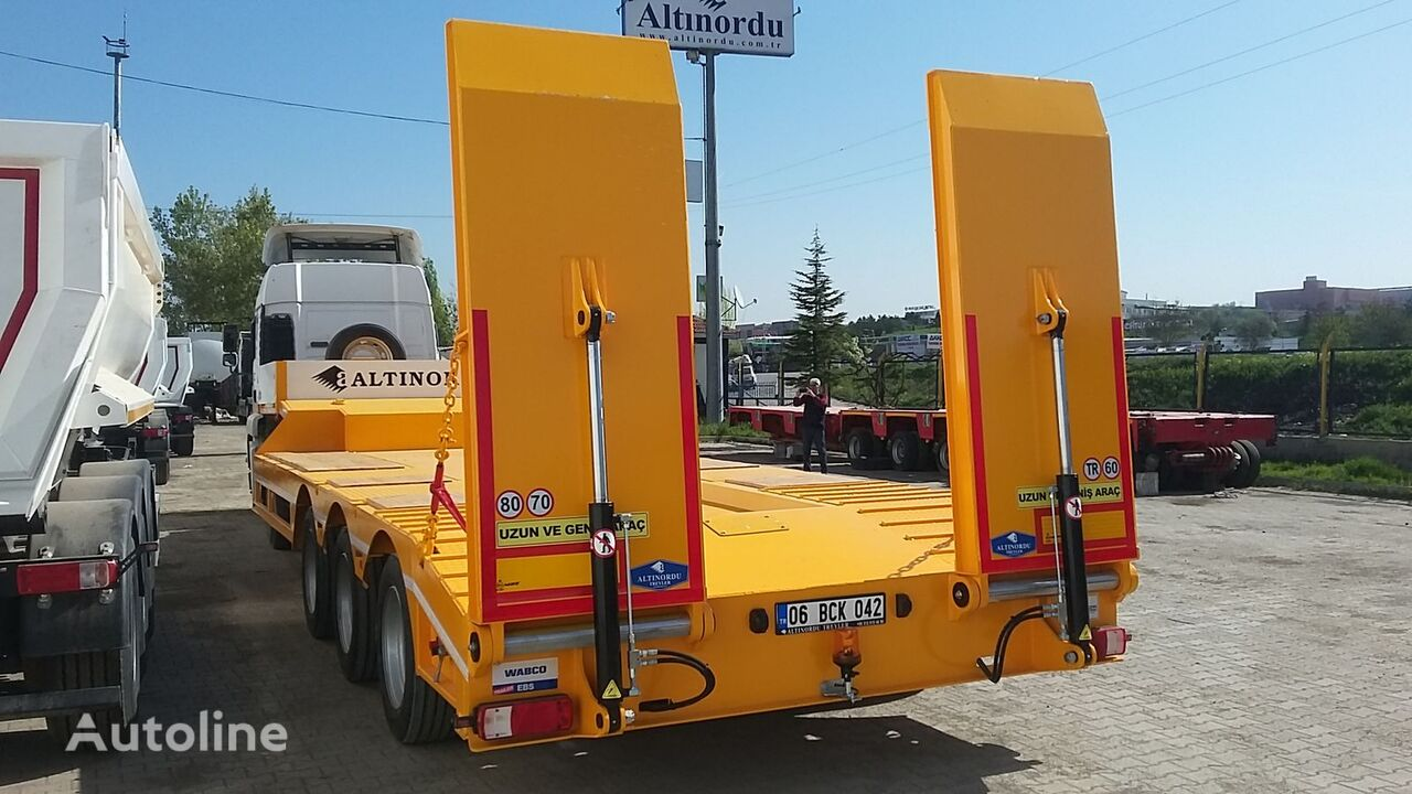new ALTINORDU 3 AXLE LOWBED CAPACITY 60 TON low bed semi-trailer