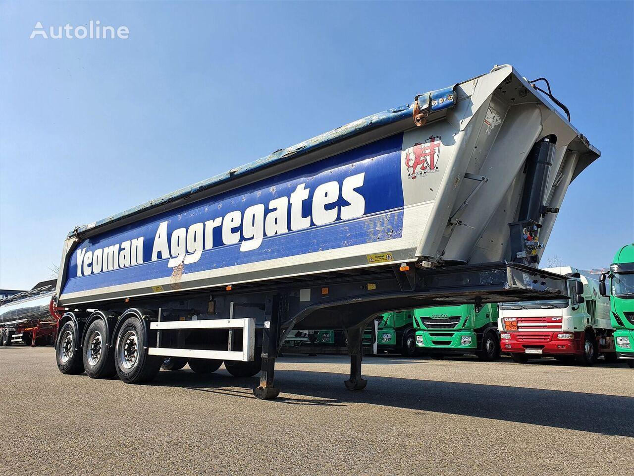 BENALU Alu Tipper 33m3 - Asphalt Road Maintenance  tipper semi-trailer