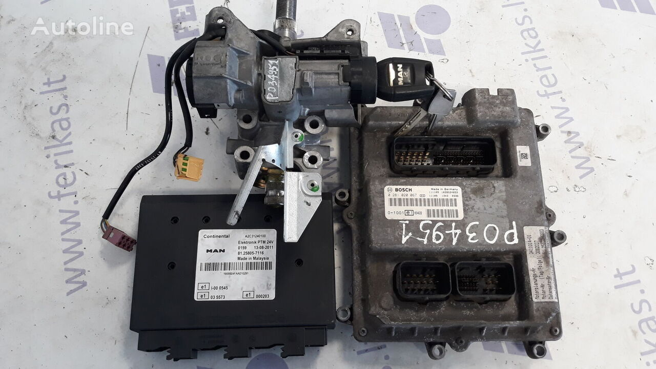 MAN D2676 EURO 5 ECU set control unit for MAN TGX tractor unit