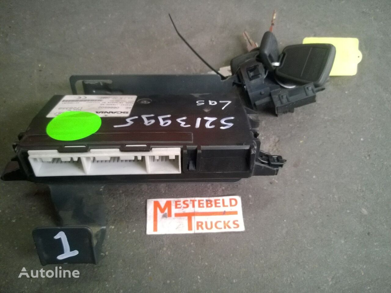 SCANIA LAS alarm regeleenheid R-serie control unit for truck