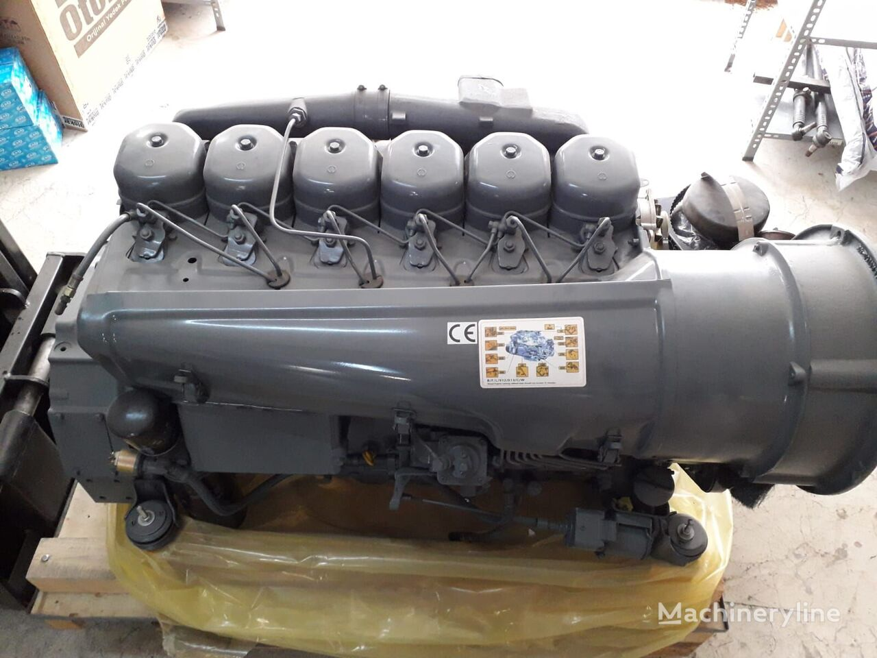 new BF6L 913 149 HO engine for concrete mixer truck