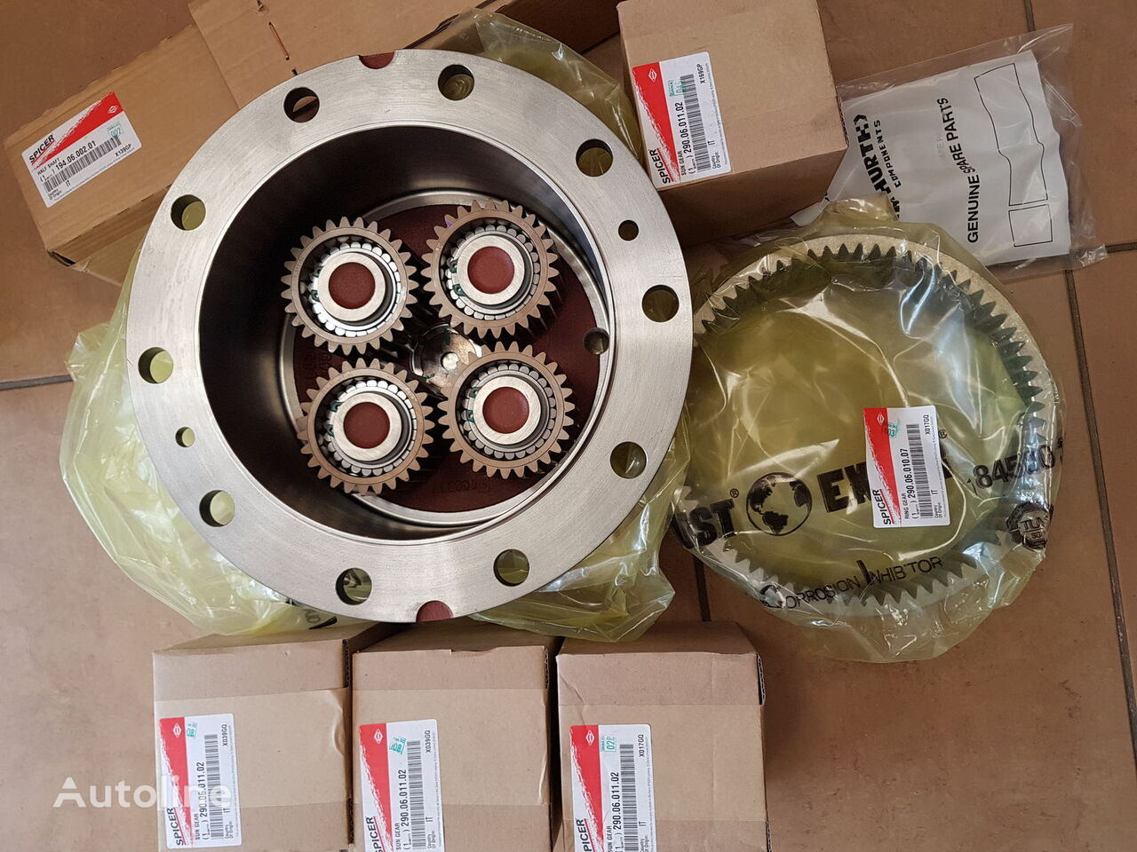 new Dana SPICER final drive for excavator