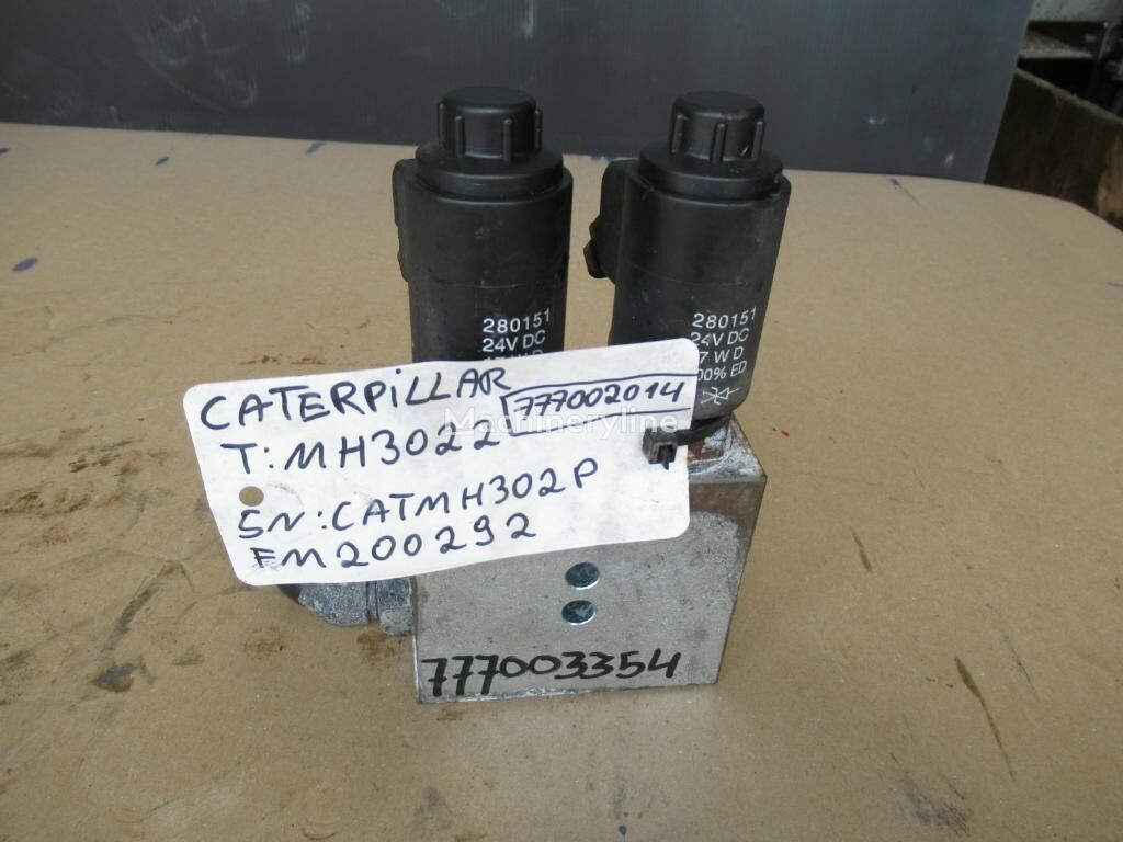 CATERPILLAR hydraulic distributor for excavator