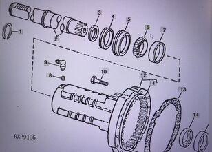 JOHN DEERE JD9092/pierścień wewnętrzny repair kit for JOHN DEERE 4554/4755/4955 tractor
