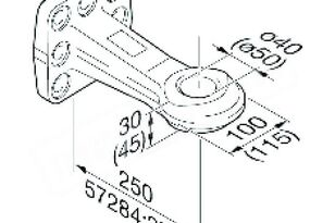 Drawbar ROCKINGER (ROE57244) spare parts for truck