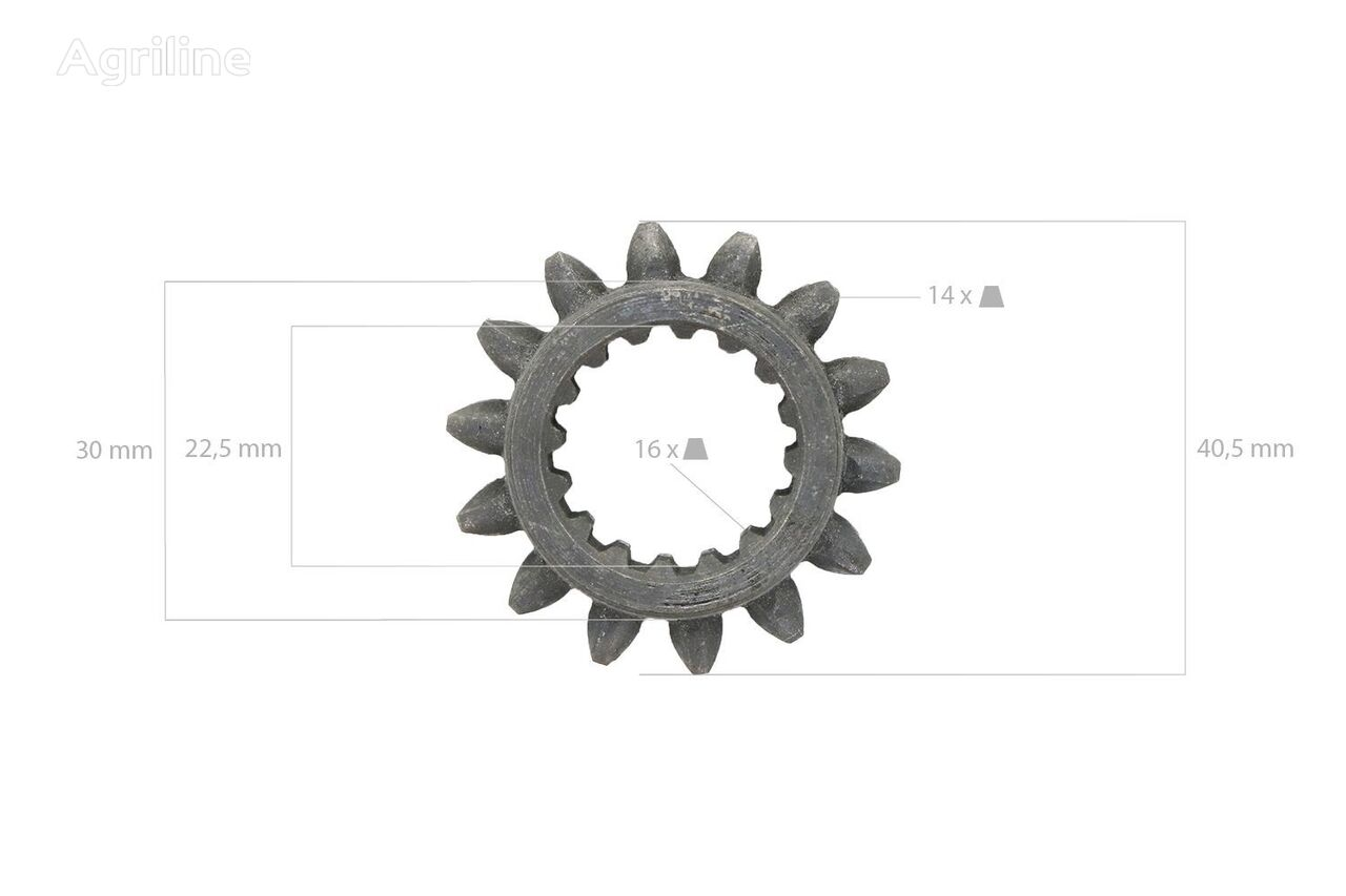 new Tandwiel 14TX16T sprocket for tractor