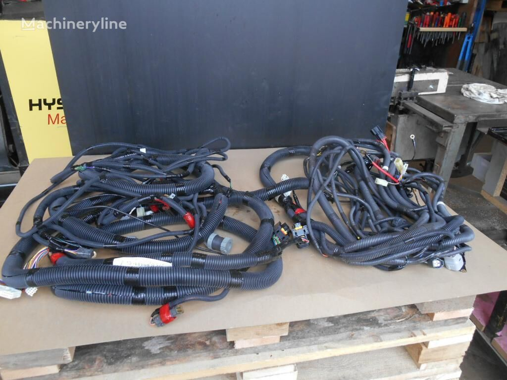 new CASE wiring for excavator