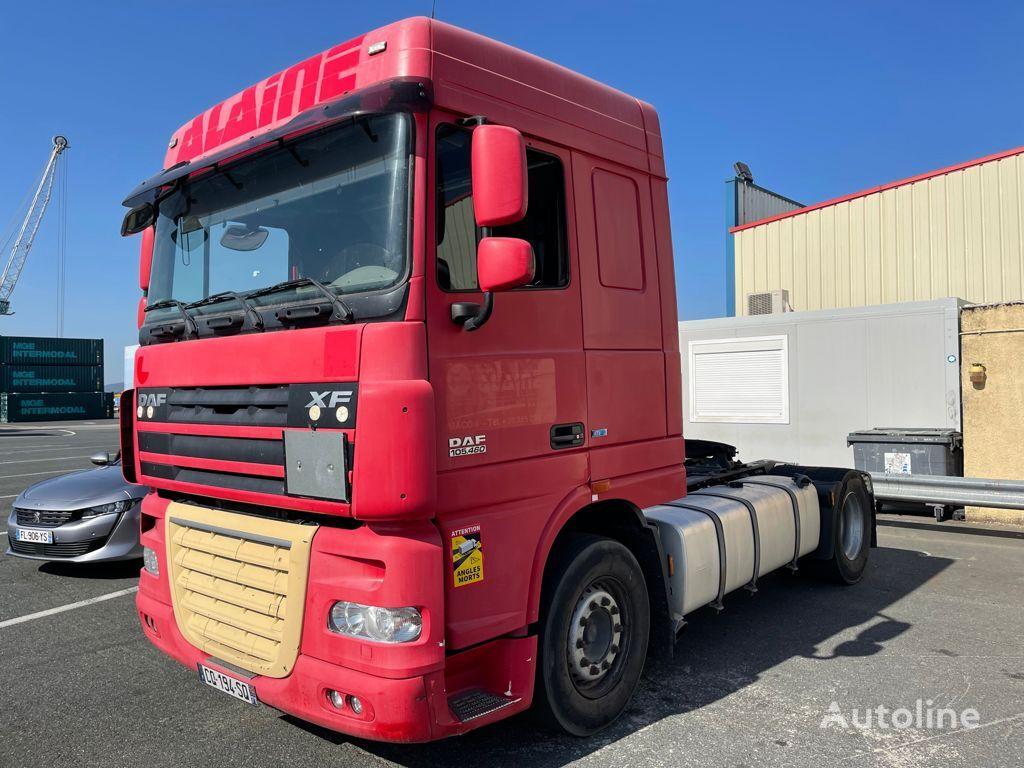 DAF XF105.460/ADR/RETARDER/ATE/IMPORT FRANCE tractor unit