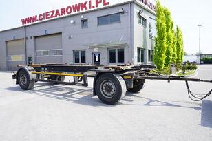KÖGEL AWE 18 , BDF 7,5m , 2 axles , SAF axles  chassis trailer