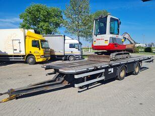 DRACO gradj. masine / cont. 20 inch / NL brif equipment trailer