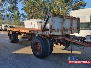 TITAN GR 216 T flatbed trailer