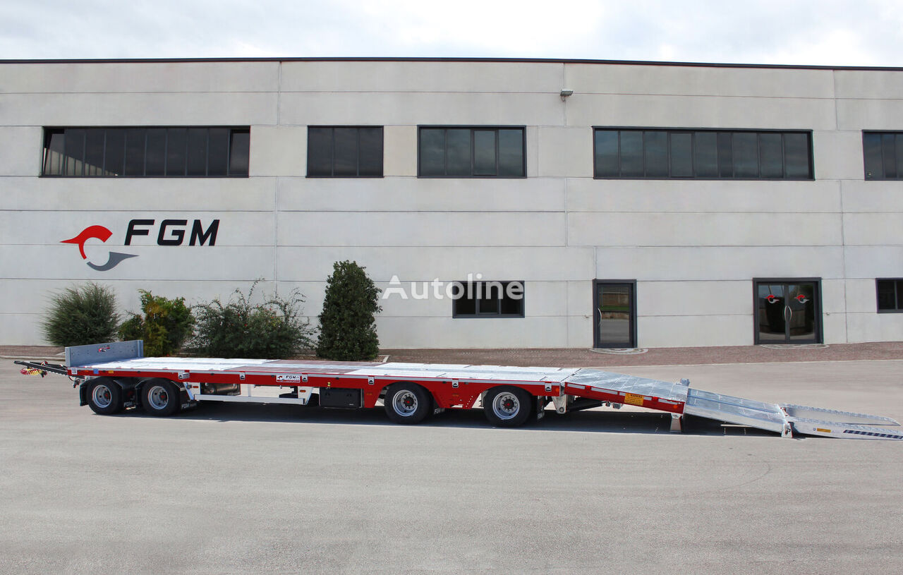new FGM 44 low loader trailer