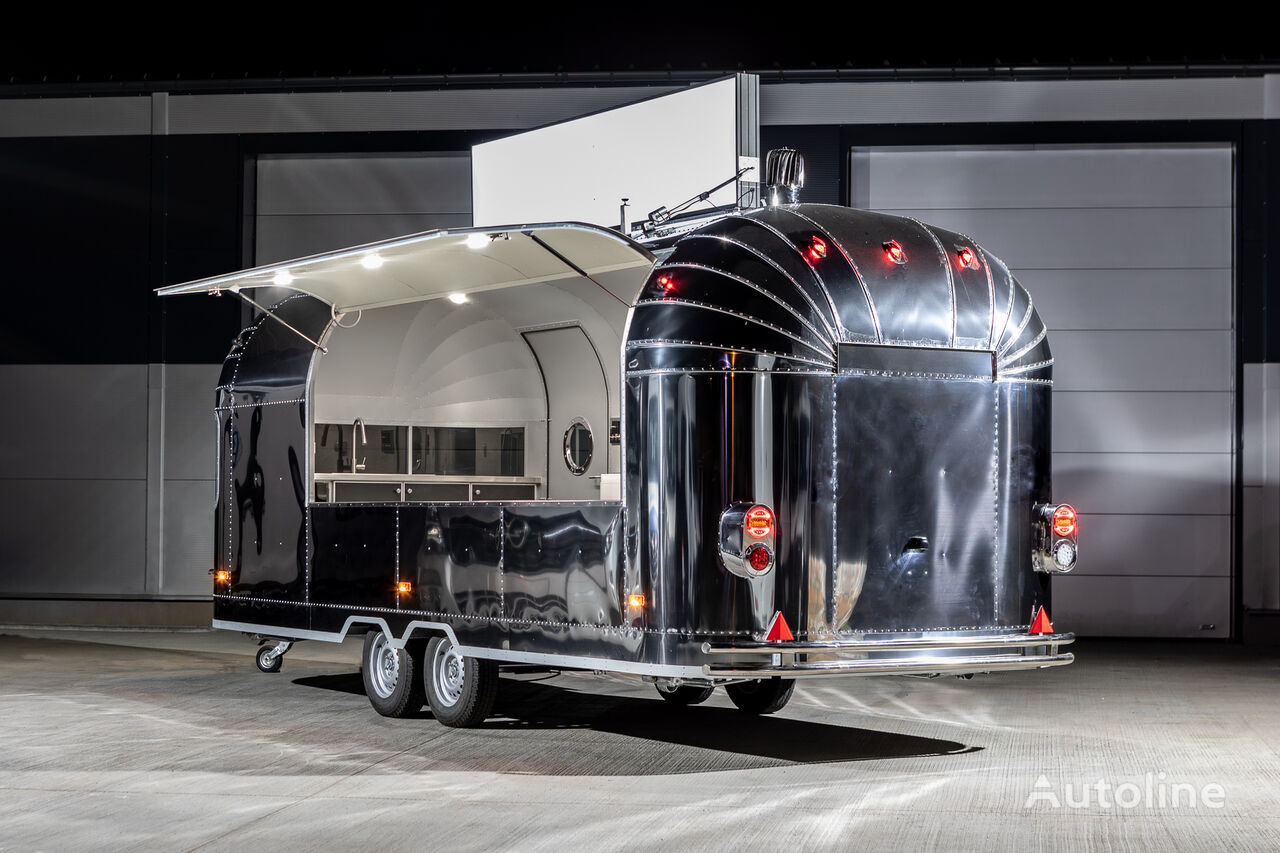 new AIRSTREAM Catering Trailer   Food Truck   Stainless Steel vending trailer