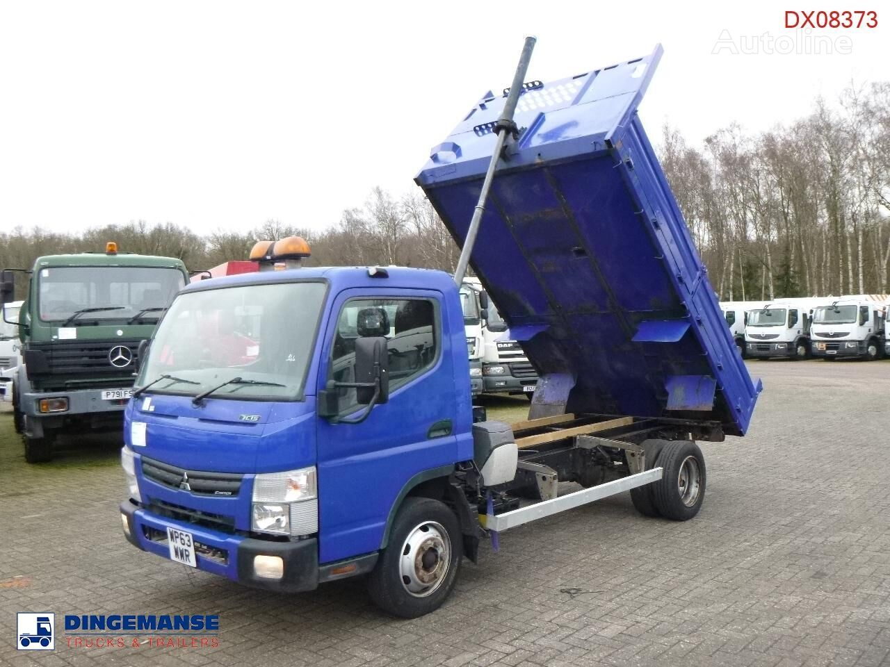 MITSUBISHI Fuso Canter 7C15 4x2 RHD tipper dump truck