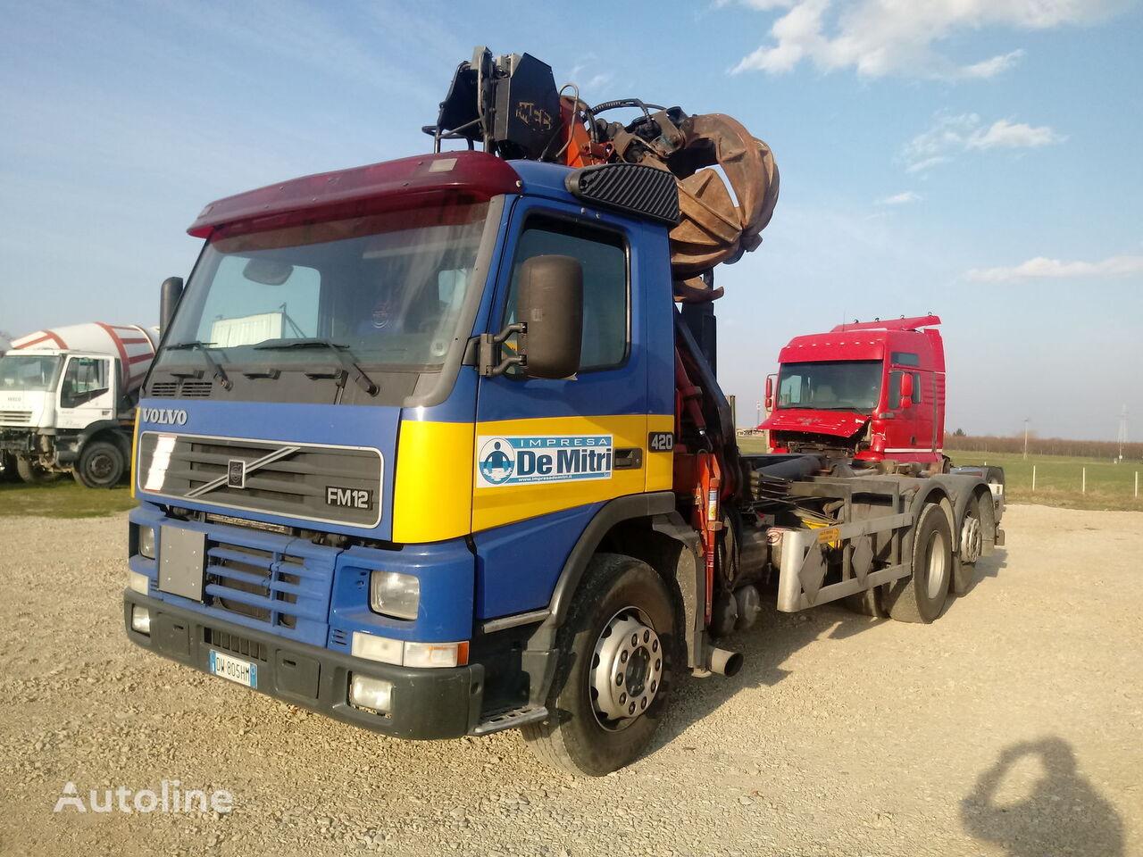 VOLVO FM 12.420 hook lift truck