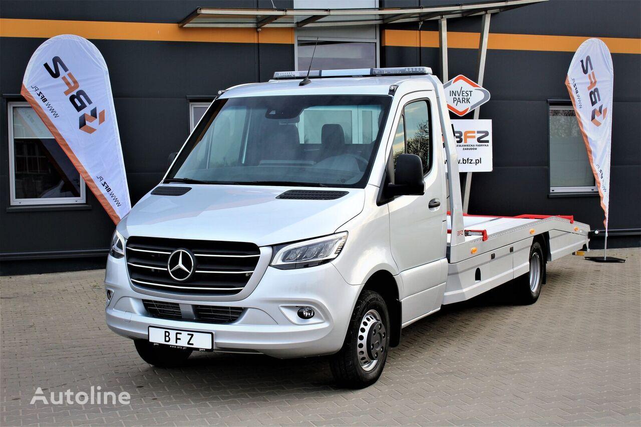new MERCEDES-BENZ Sprinter 519 V6 5,5T  NAVI LED LUFTFEDERUNG NUTZLAST CA. *** 280 tow truck