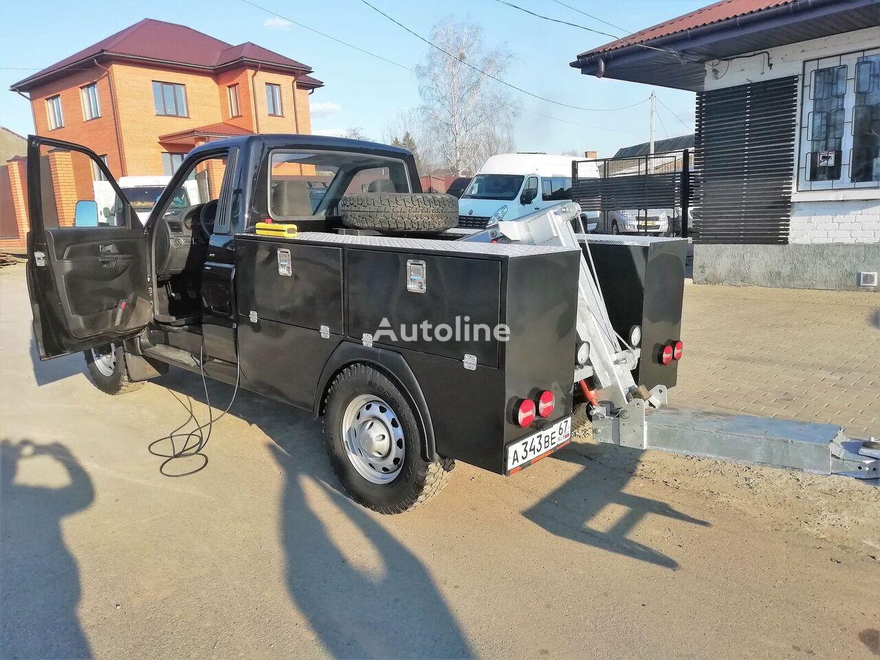 UAZ Kargo tow truck